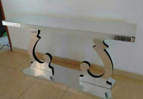 Aparador Veneziano Espelhado 1,20x0,40x80cm